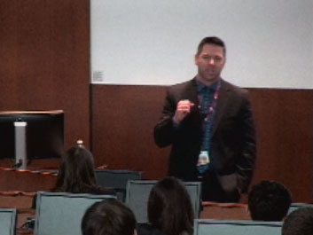 Picture from Medical Student Research Forum - Shapior Guest Lecture