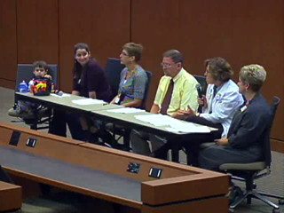 Picture from Interdisciplinary Healthcare Panel Discussion video