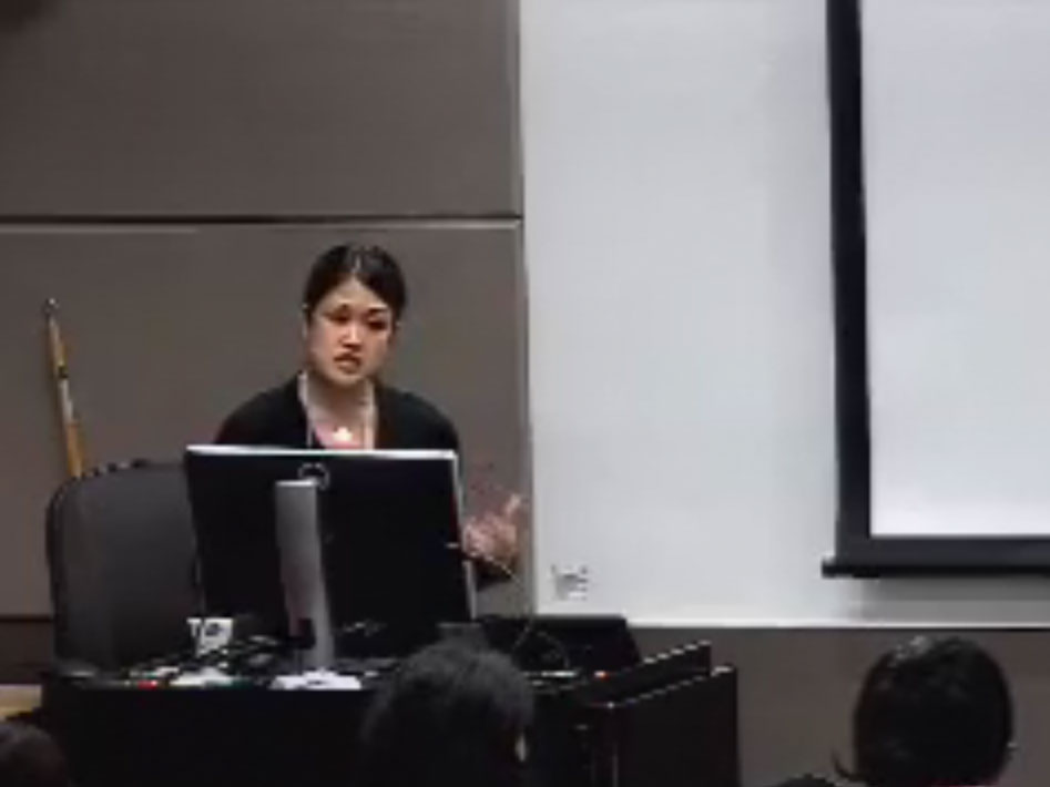 Picture from Global Health Symposium 2015 1309 video