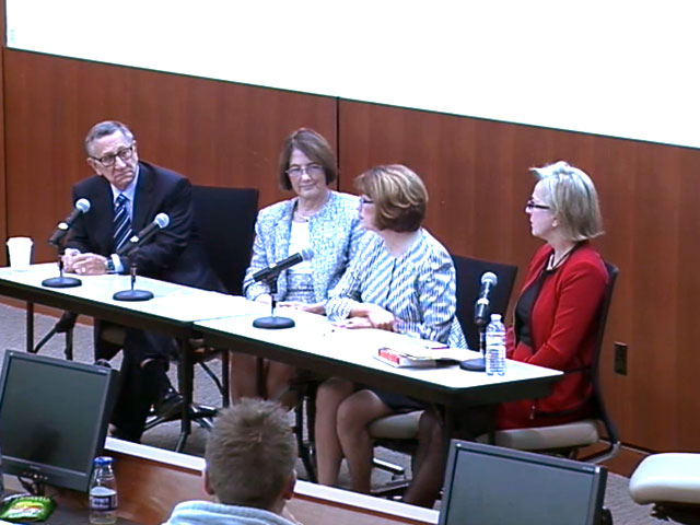 Picture from Panel Discussion - Educating Nurses for the New World of Health Care video
