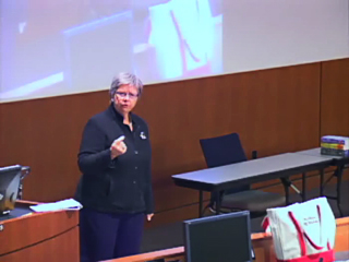 Picture from Littlefield Leadership Lecture Series: The Future of Nursing Education Is Here . . . Now video