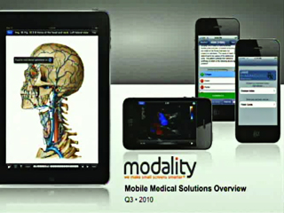 Picture from Modality: Mobile Medical Solutions Overview video
