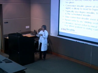 Picture from Optimizing Diabetes Management in the Hospital Setting video