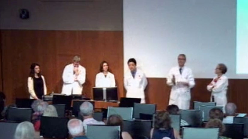 Picture from Mini Med School - Vision and Hearing Health:  Keeping Your Senses Sharp video