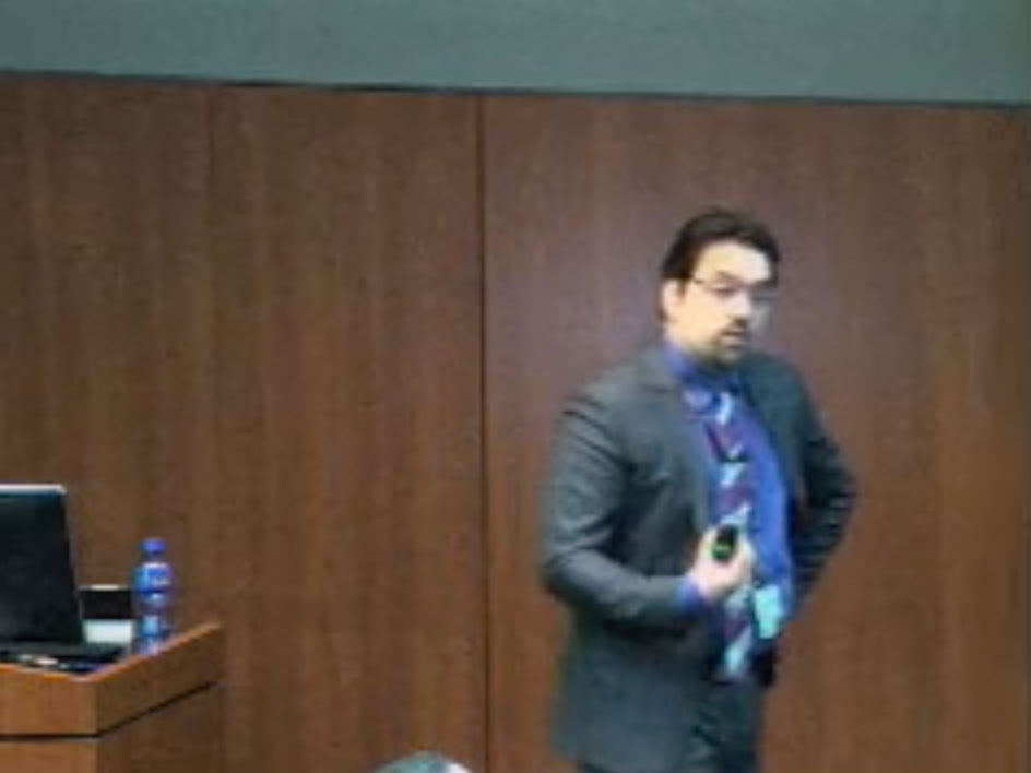 Picture from OBGYN Department Research Day-Faculty Presentations video