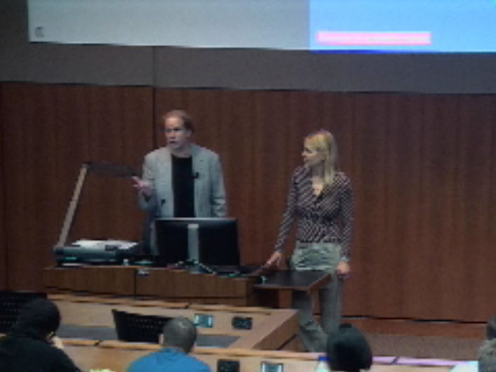 Picture from Dept. of Ophthalmology and Visual Sciences Grand Rounds - Drs. Michael Shapiro and Sarah Nehls video