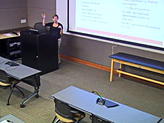 Picture from General Information Session - UW-Madison Physician Assistant Program video