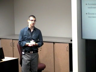 Picture from PCC Student Presentations Session 2 video
