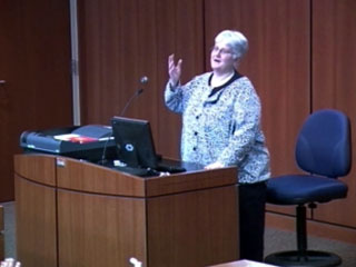 Picture from 4th Annual Health Sciences Teaching Symposium video