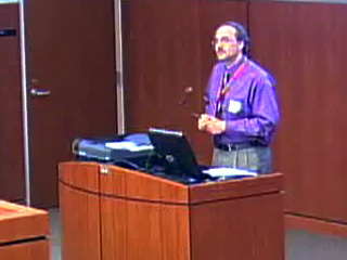 Picture from UW-Madison Campus Libraries Reference Retreat - July 2009, Part 2 video