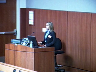 Picture from RUSCH & Spelman Final Presentations video