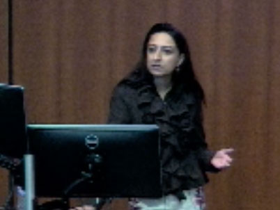 Picture from Dr. Safdar Academic Presentation video