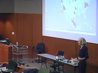 Picture from Littlefield Leadership Lecture Series: Supporting Nursing Education with Bits and Bytes video