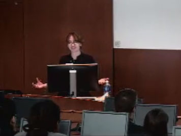 Picture from Student Research Forum Podium Presentations - Session A video