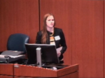 Picture from Student Research Forum Podium Presentations - Session B video
