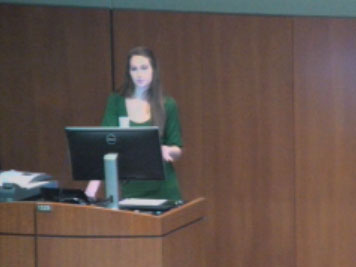 Picture from Student Research Forum Podium Presentations - Session C video