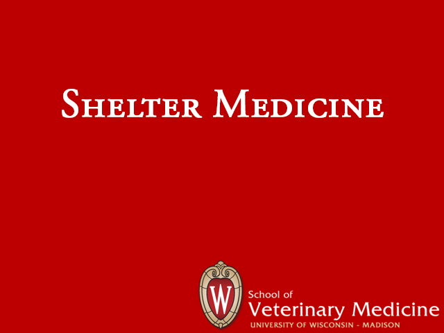 Picture from Shelter Medicine - Preventive Medicine video