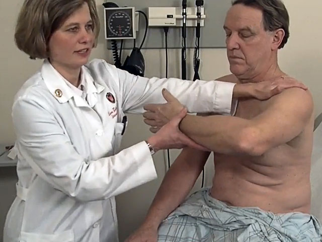 Picture from MSK Exam: Shoulder, Elbow, Wrist and Hand video
