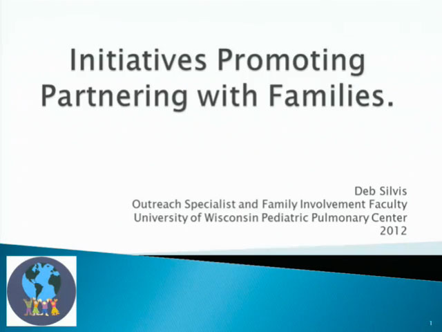 Picture from UW PPC Tutorial: Initiatives Promoting Partnering with Families video