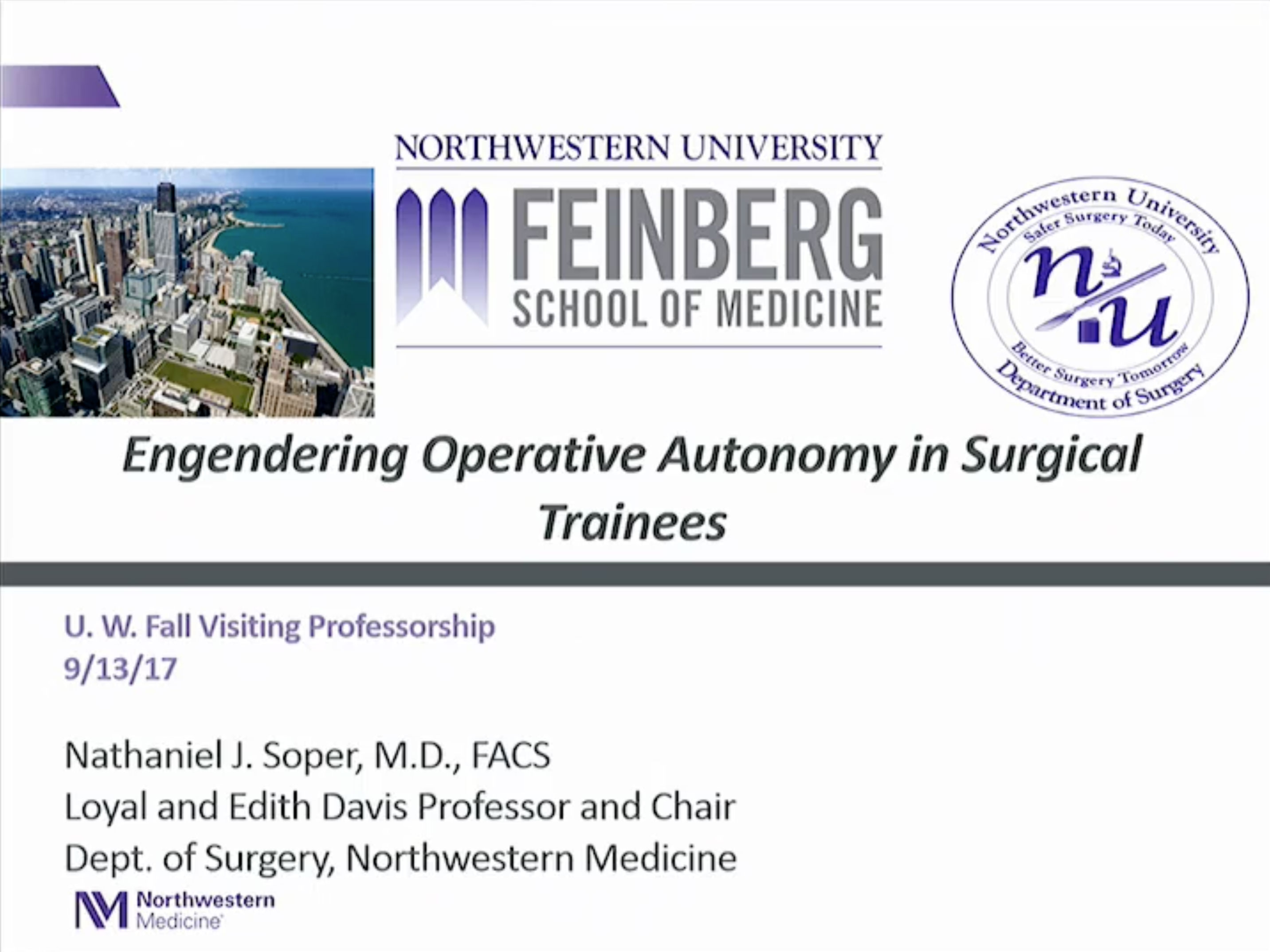Picture from Engendering Operative Autonomy in Surgical Trainees