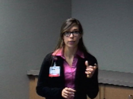 Picture from UW Health Dietetic Internship Open House video