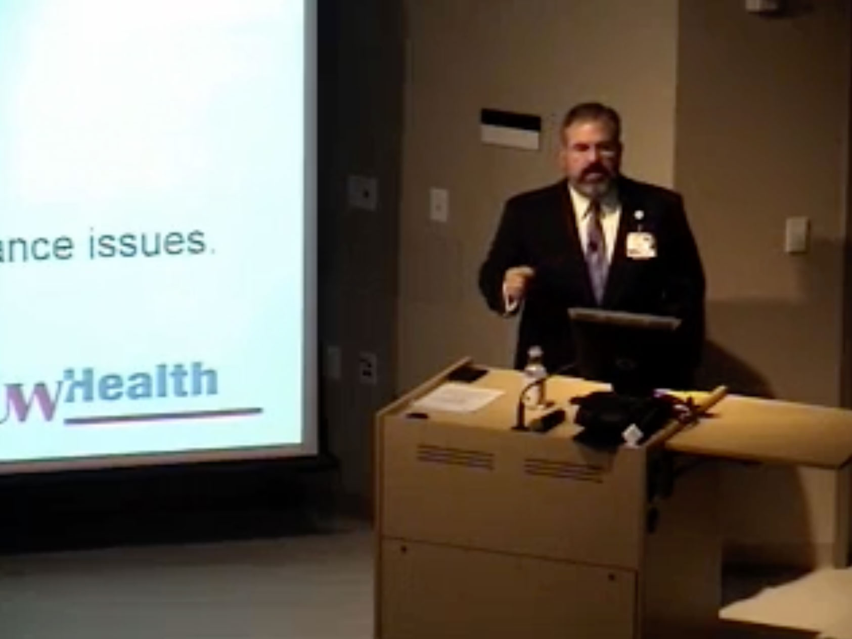 Picture from UW Health Compliance Education for Leaders (FY16) video